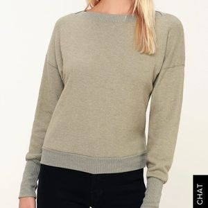Project Social T Darwin sage hacci pullover